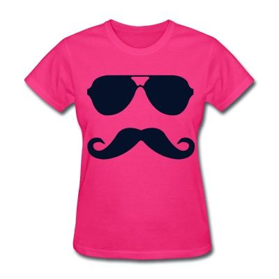 mustache and glasses T-Shirt | 369910