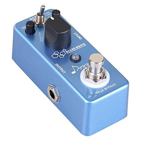Donner Blues Drive Classical Electronic Vintage Overdrive Guitar Effect Pedal True Bypass Warm/Hot Modes - Walmart.com #guitarpedals