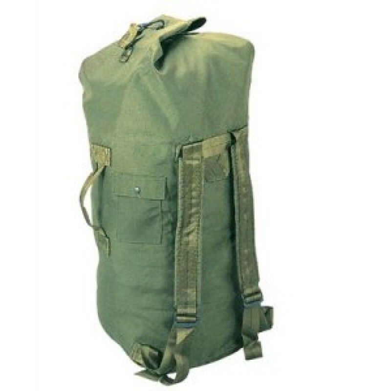 c03c5a1658 USA 2-Strap Military Duffle Bag   Military Surplus Backpacks - The USA used duffle  bags are used all over the world by our troops. The adjustable straps of ...