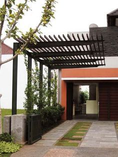 Carport In Front Of House Google Search Modern Pergola