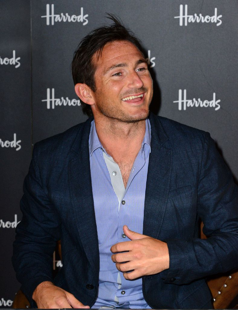 Frank Lampard. What a sweet smile.