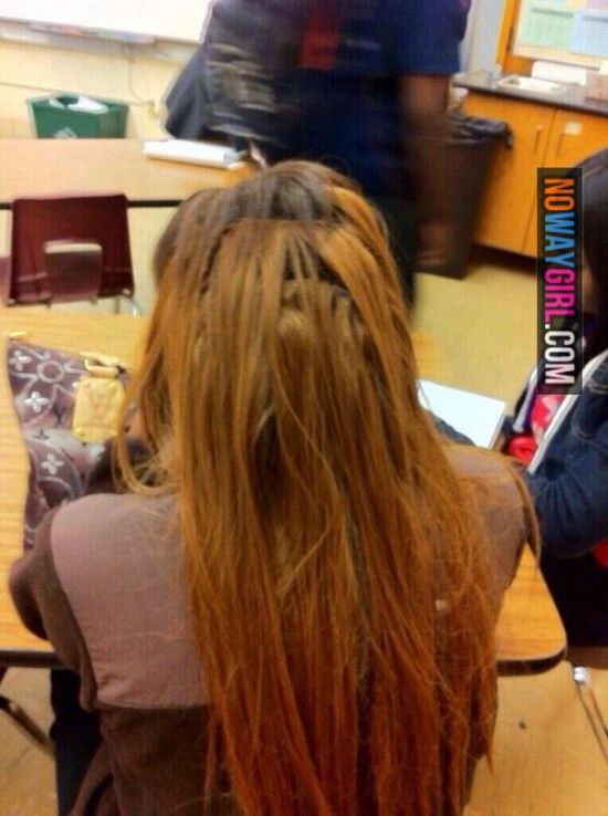 Ghetto Weave Tracks Yikes I Would Love To Show This To Some People