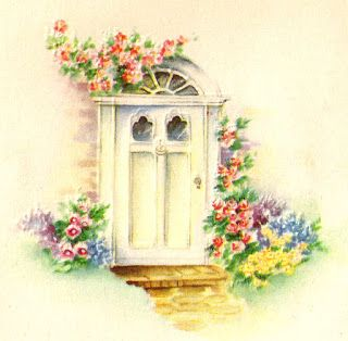 front door clipart. Antique Images: Front Door Clipart Flower Garden Image Household Download