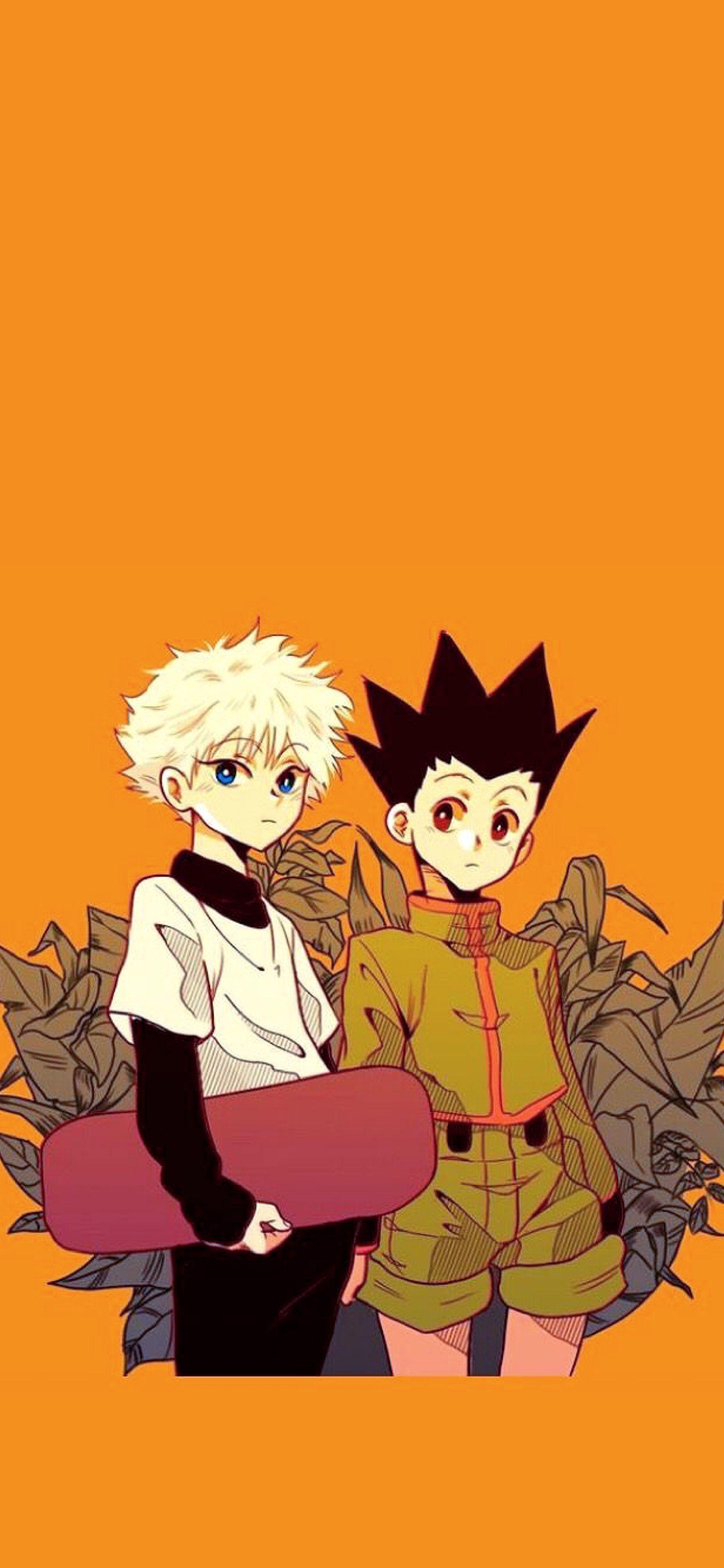 Gon And Killua Wallpaper Hunter Anime Anime Lock Screen Anime Wallpaper Iphone
