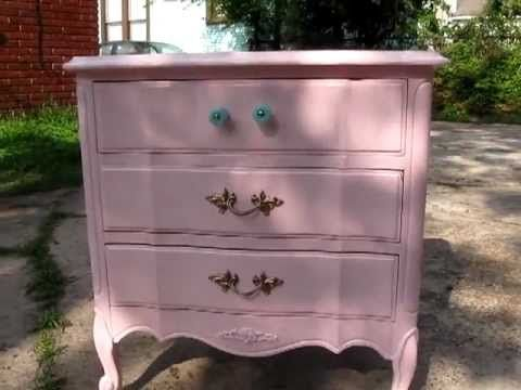 Refinishing Bella S French Provincial Furniture Shabby Chic Part 1