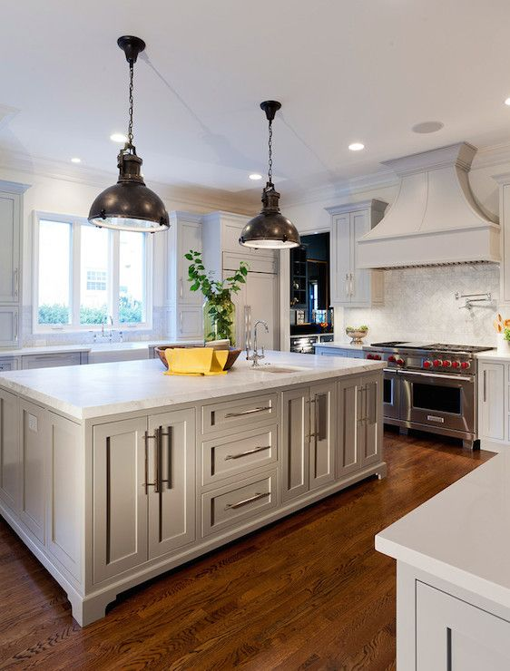 Best Gray Paint For Kitchen Cabinets Transitional Kitchen 400 x 300