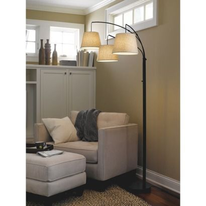 Threshold 3 Arm Arc Floor Lamp Includes Cfl Bulb Floor Lamps Living Room Arc Floor Lamps Target Floor Lamps