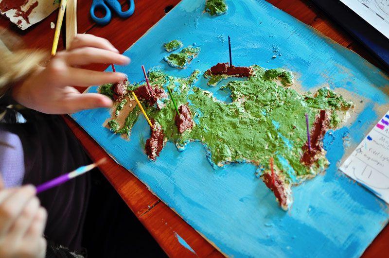 Blogging about TOGging: Salt Dough Maps of Europe » Sergeant Major ...