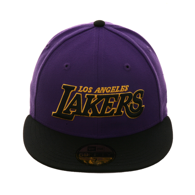 outlet store sale new photos authentic quality Exclusive New Era 59Fifty Los Angeles Lakers Word Hat - 2T Purple ...