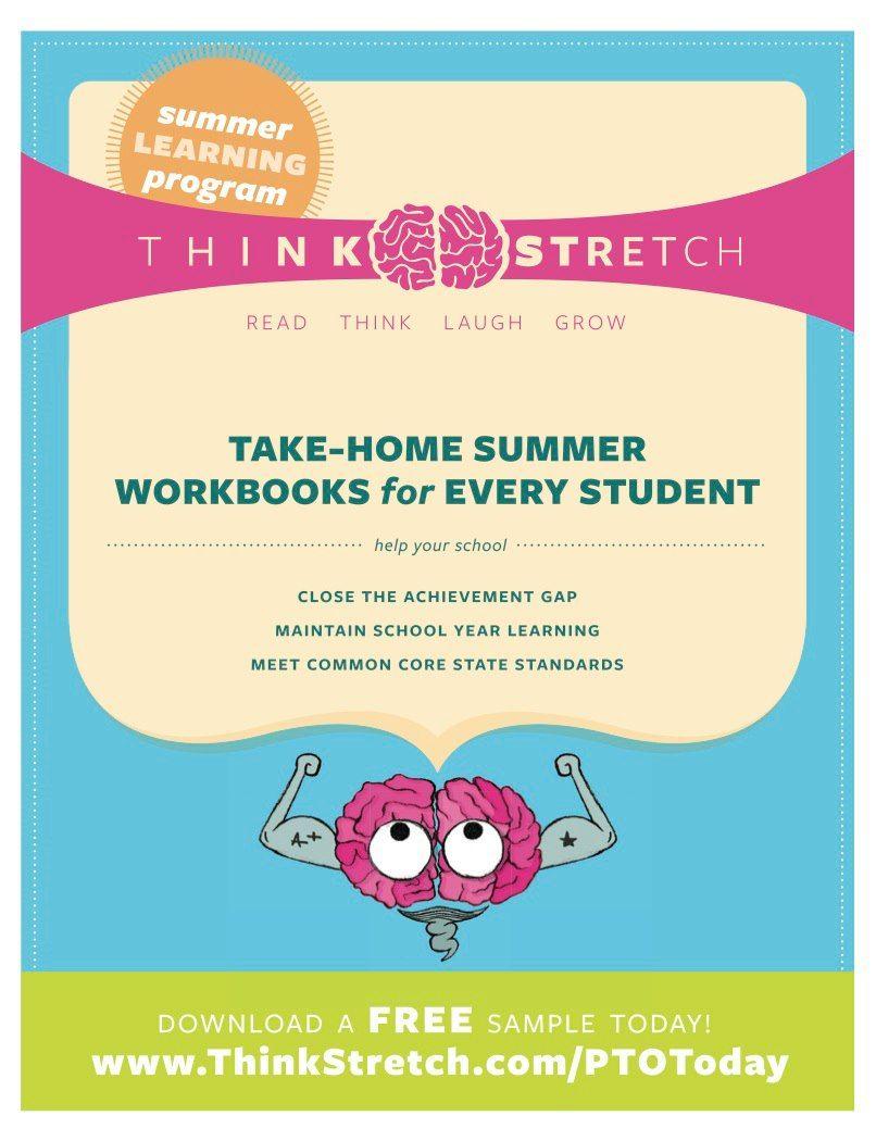 Download a free ThinkStretch workbook sample today! | Program ...