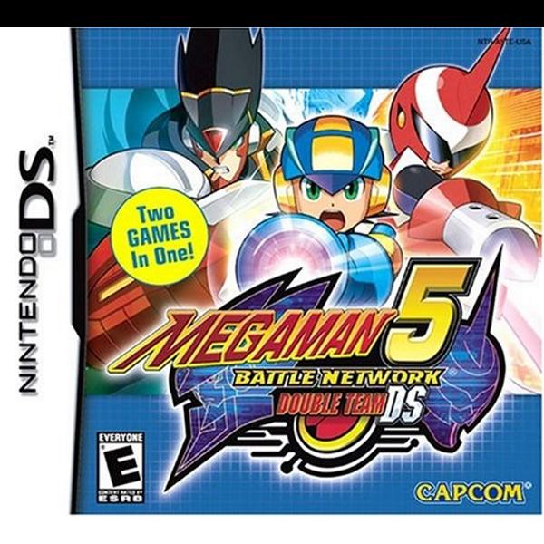 Mega Man Battle Network 5 Double Team Ds Nintendo Ds Dsi Mega Man Nintendo Ds Ds Games