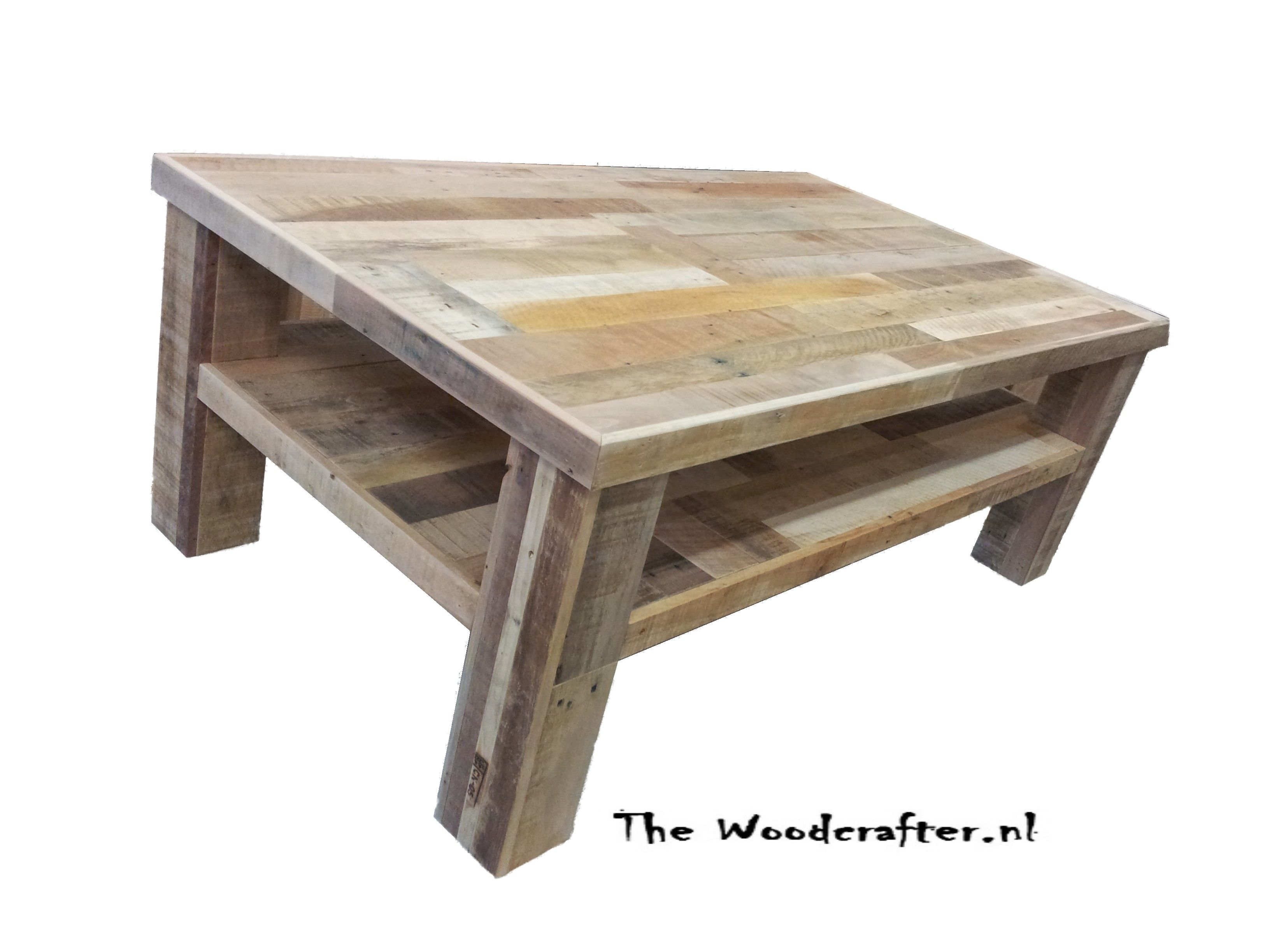 nice handmade table from reclaimed wood Sloophout