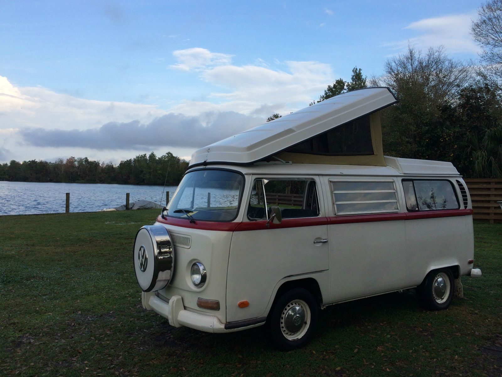 re volkswagen pin by bus single pinned cab waterfront camper