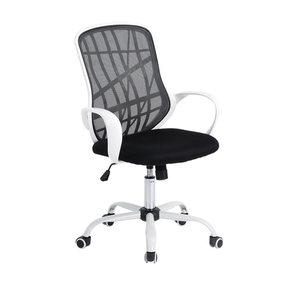 Superb Genuine Pp Mesh Back Swivel Office Chair Black White Height Pdpeps Interior Chair Design Pdpepsorg