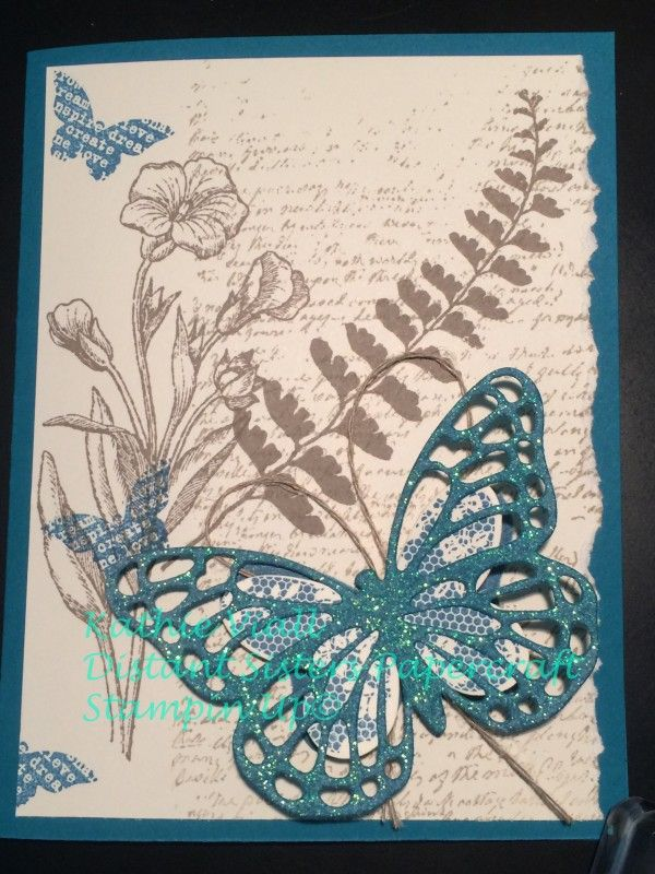 Butterfly basics by aloeviall - Cards and Paper Crafts at Splitcoaststampers
