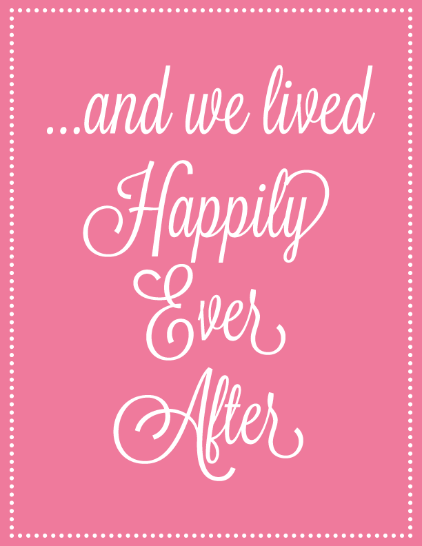 And we lived happily ever after. Click to see more prints like this one!