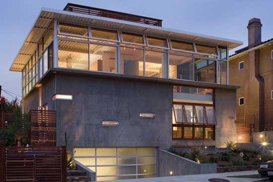 Tiny The Artistic Home Design New Homes Designs Concrete House House Design Architecture