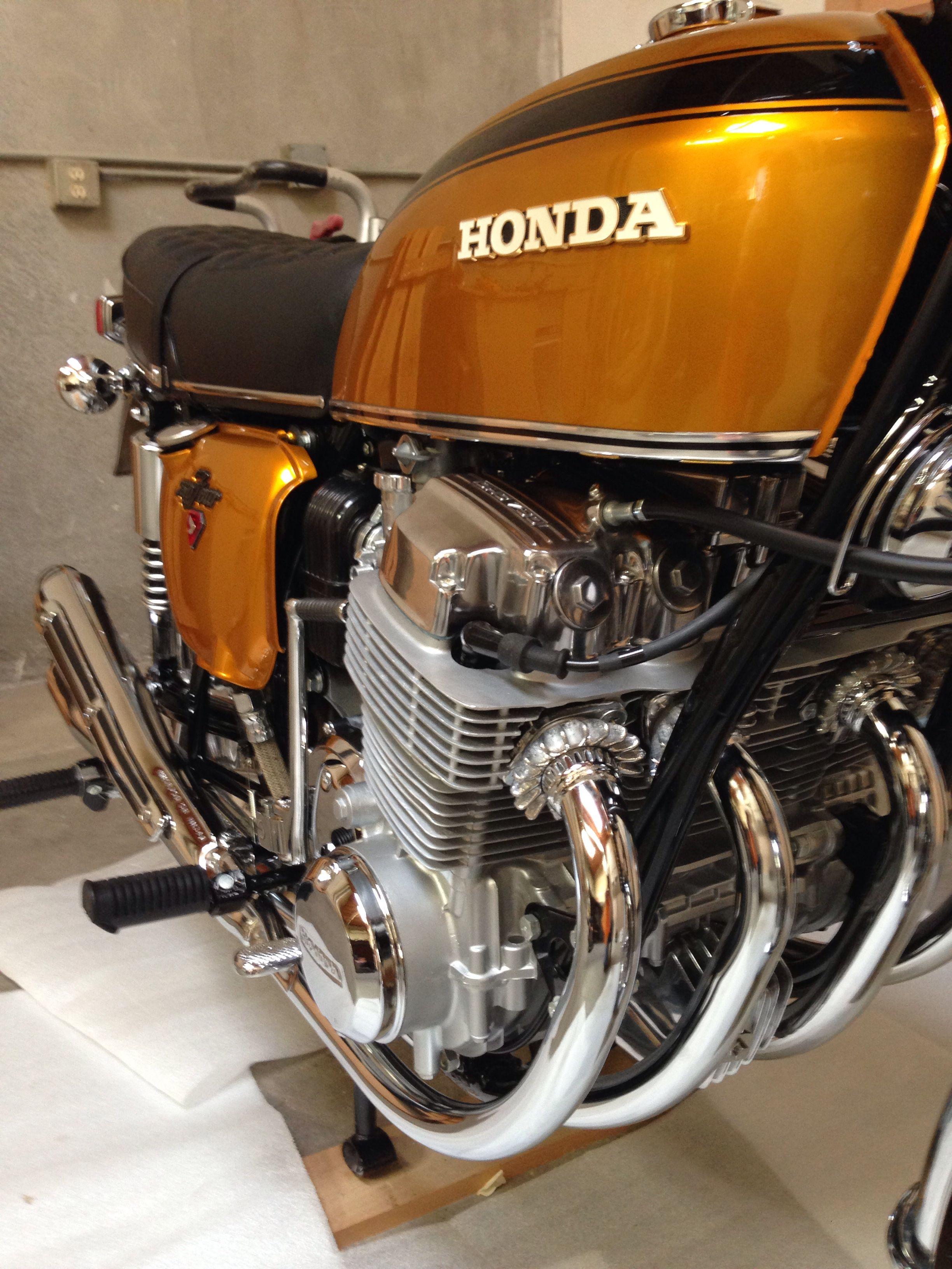 Back Together Honda Cb Honda Classic Motorcycles