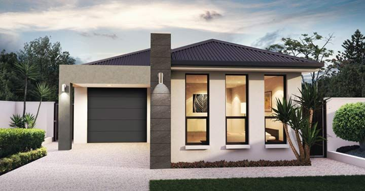 Design One Facade A - from the Weeks and Macklin Homes Choice Series ...