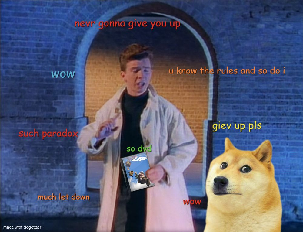 The Astley Paradox Doge Much Wow Paradox Much Wow