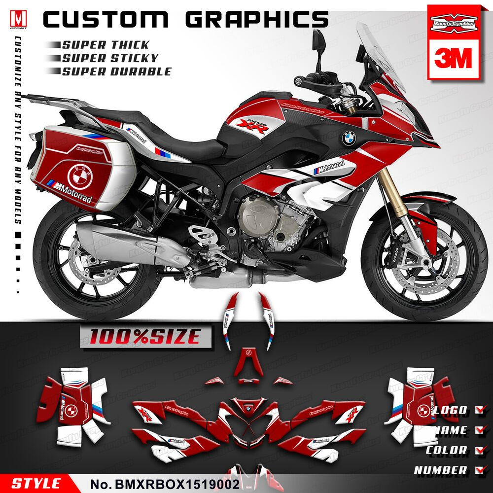 Advertisement Ebay Motorcycle Decals Stickers Graphics Kit For Bmw S1000xr 2015 2016 2017 2018 2019 Motorcycle Decals Sticker Kits Vinyl Decal Stickers