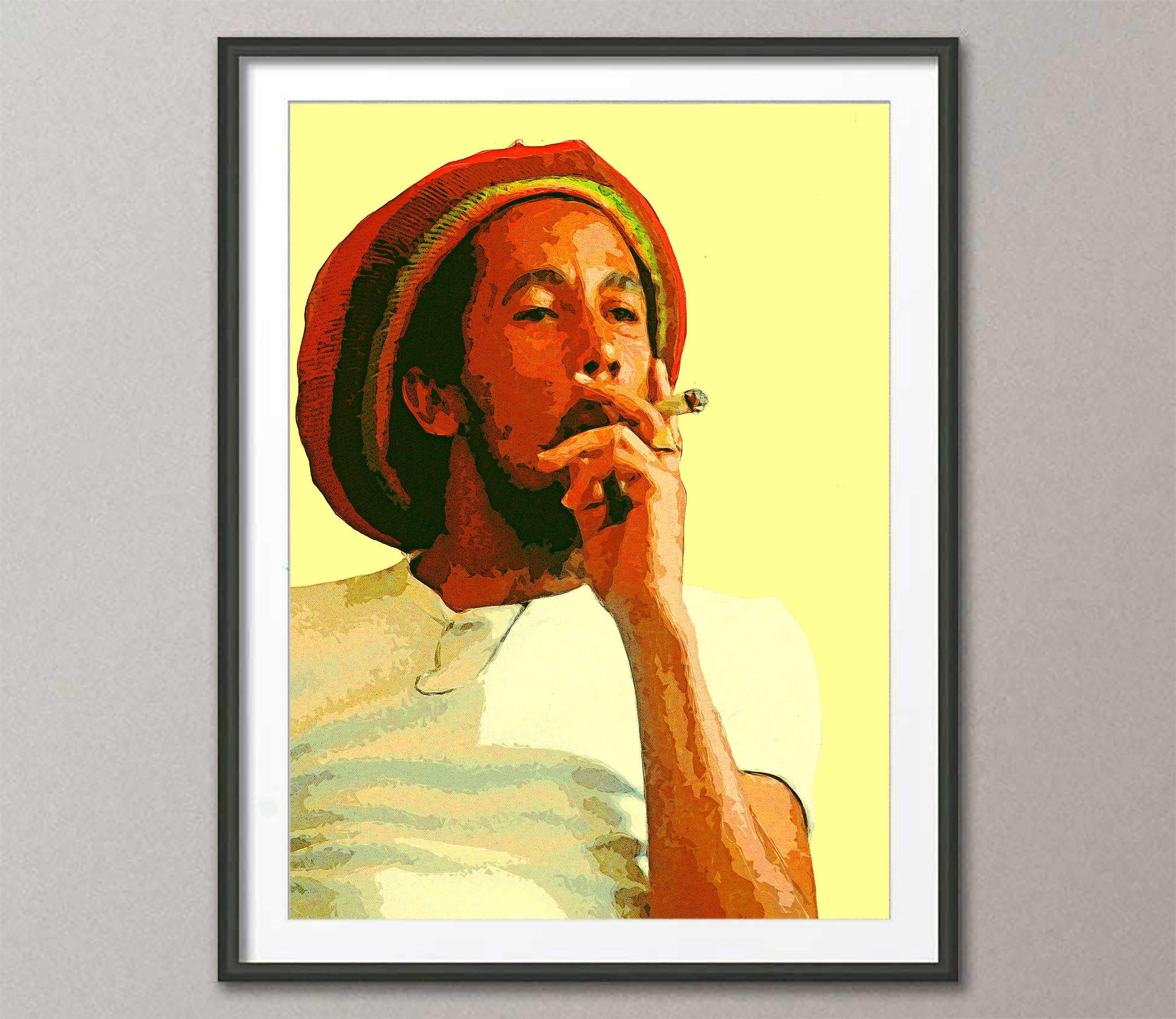 Attractive Bob Marley Canvas Wall Art Collection - The Wall Art ...