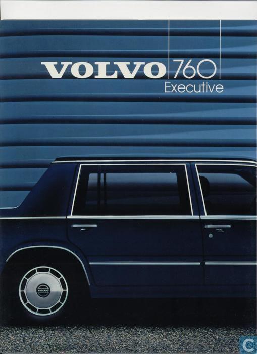 Books Volvo 700 760 Executive