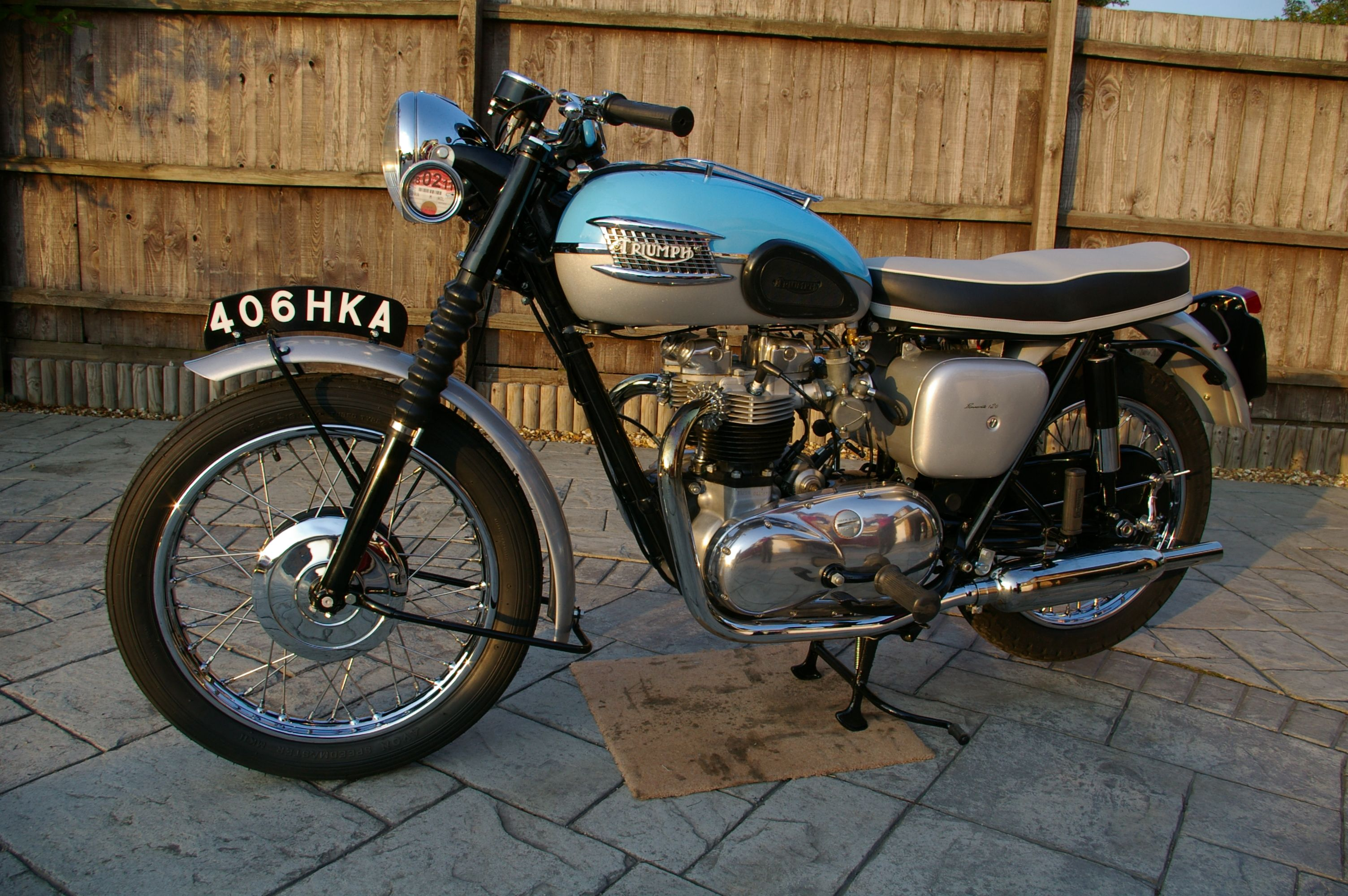1959 Triumph Bonneville T120 From The Movie Benjamin Button Wheels