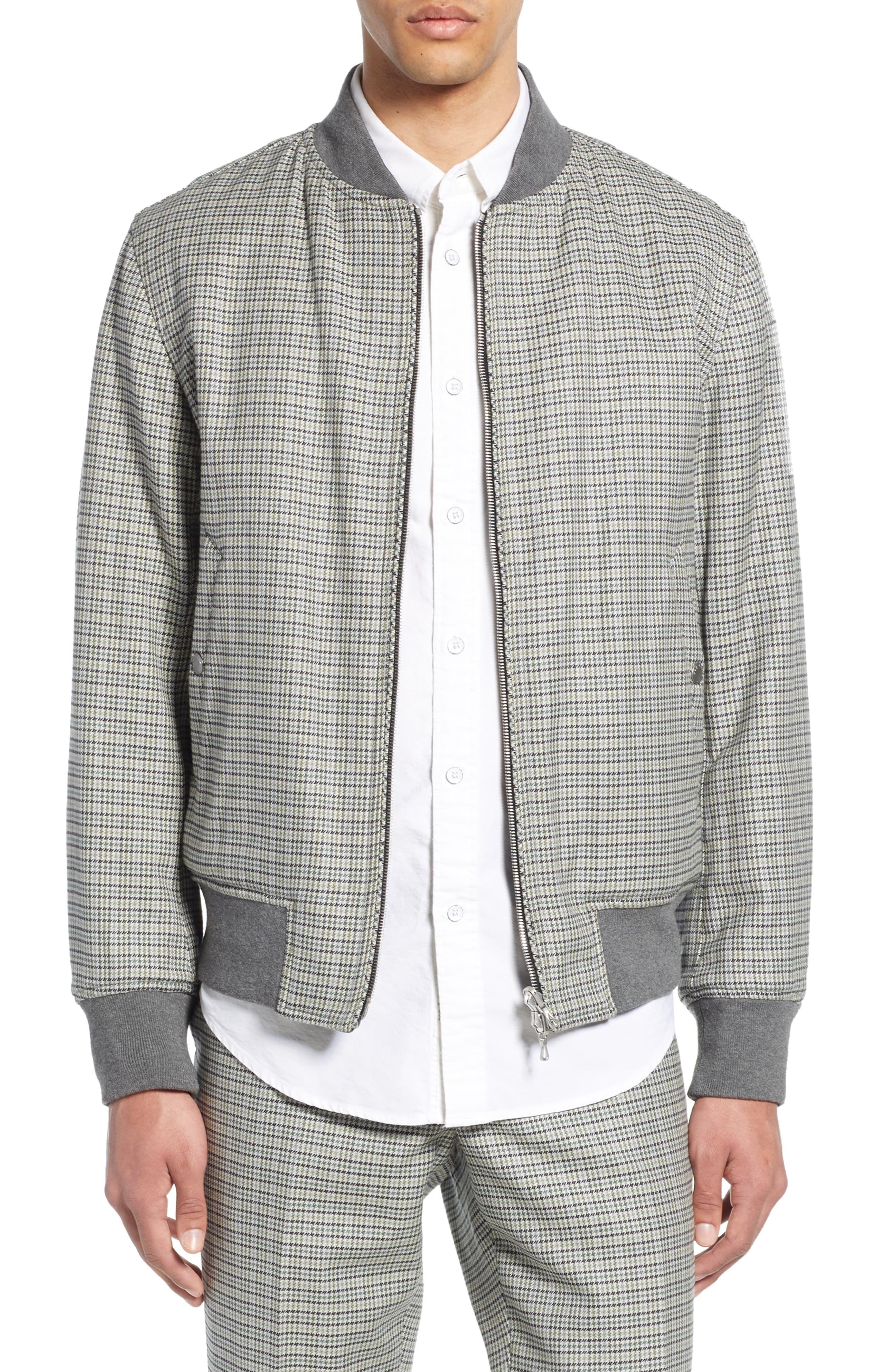 fce4e4aef Men's Rag & Bone Manston Reversible Cotton & Wool Bomber Jacket ...
