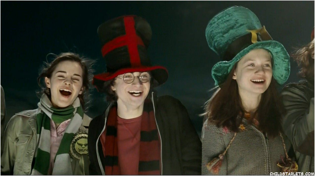 Hermione, Harry and GInny Goblet of Fire
