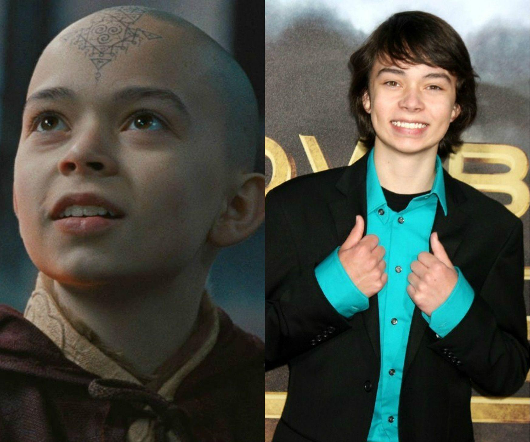 Cast Of Avatar Stars: Noah Ringer [Aang] -- The Last Airbender (2010)