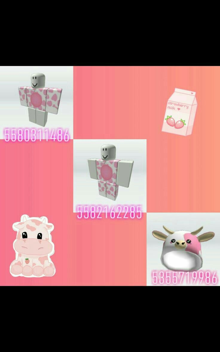 Pink Cow Outfit 4 Not Mine In 2020 Roblox Codes Roblox Pretty Wallpaper Iphone
