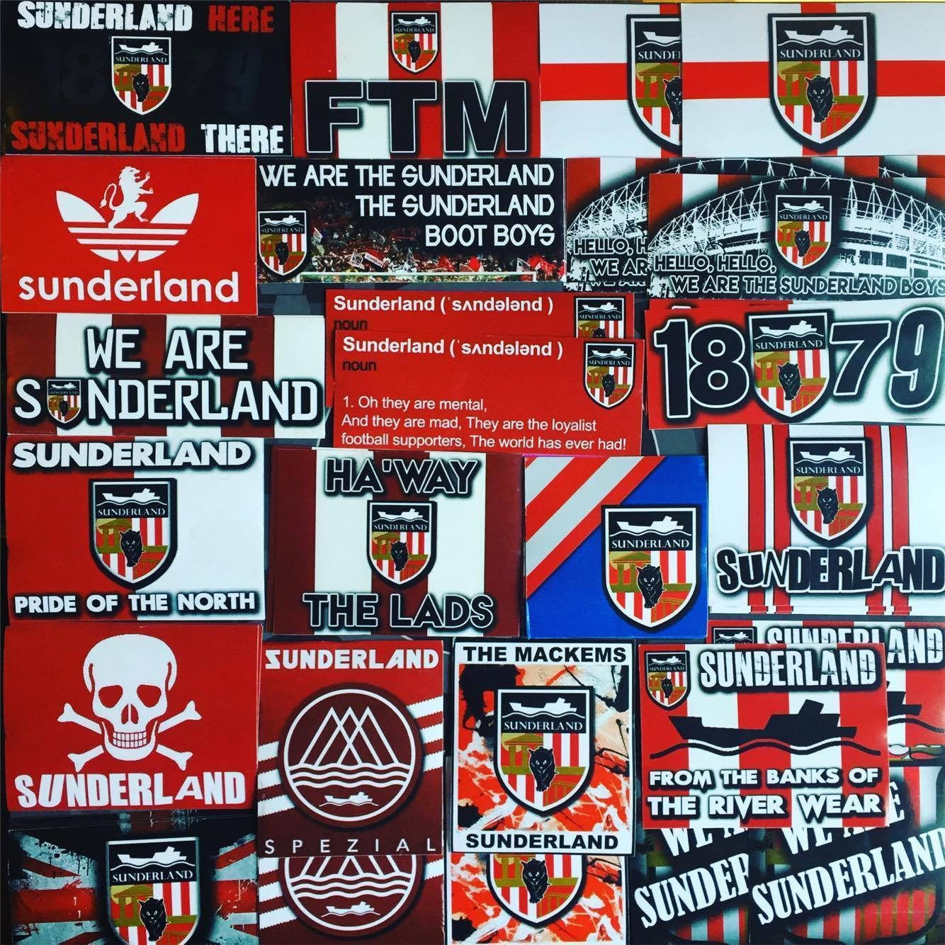 Sunderland AFC Football Scarf