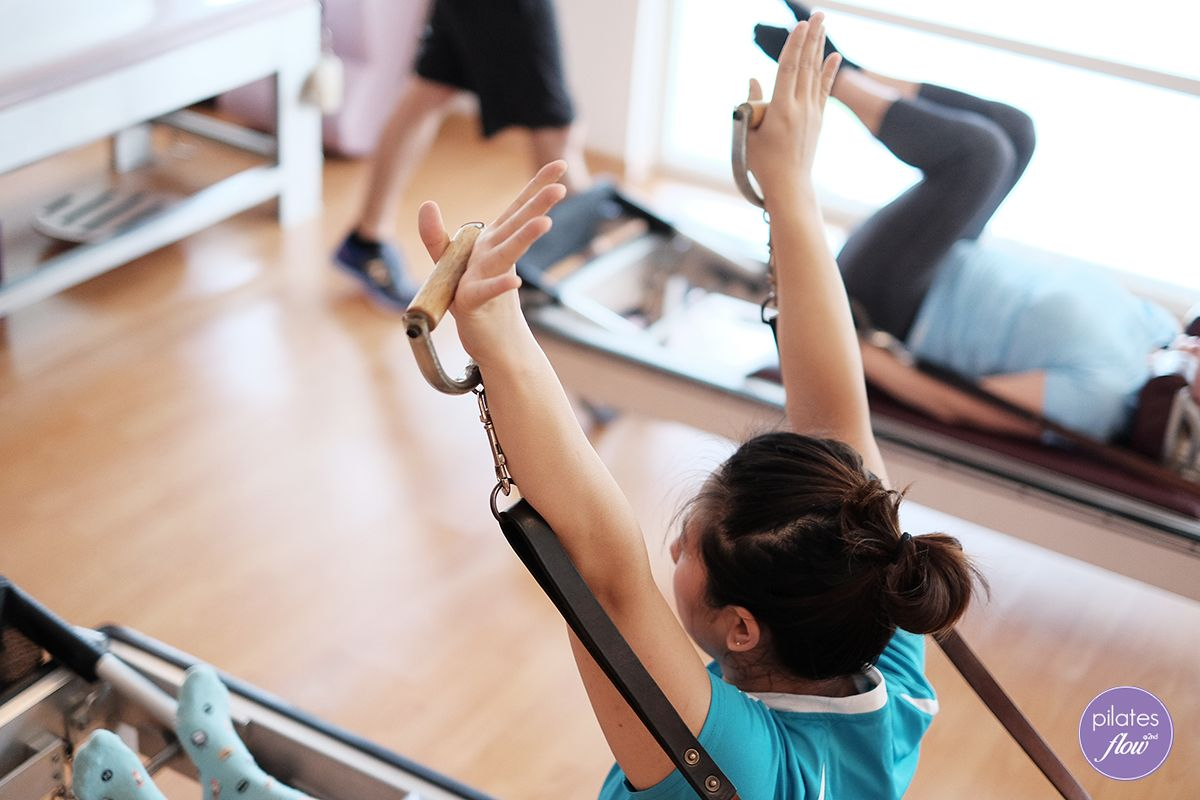 """""""Wave them like you just don't care!"""" 🙌 🙌 Pilates"""
