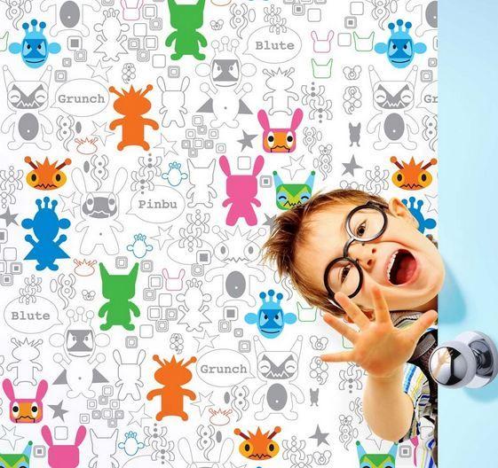 Monster Mashup Removable Wallpaper-