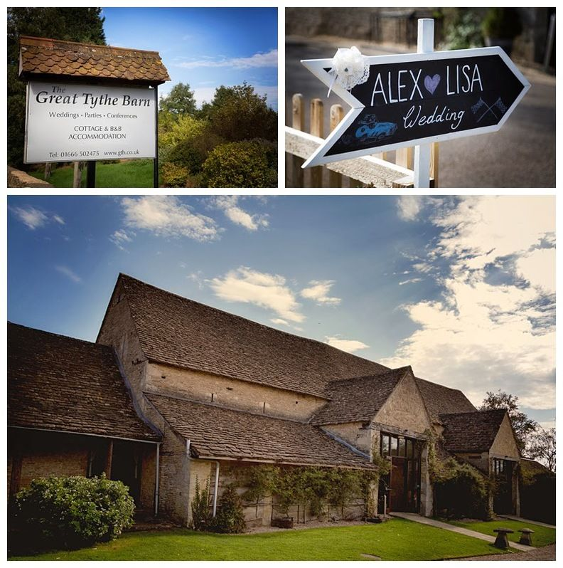 The Wedding Of Lisa & Alex At The Great Tythe Barn