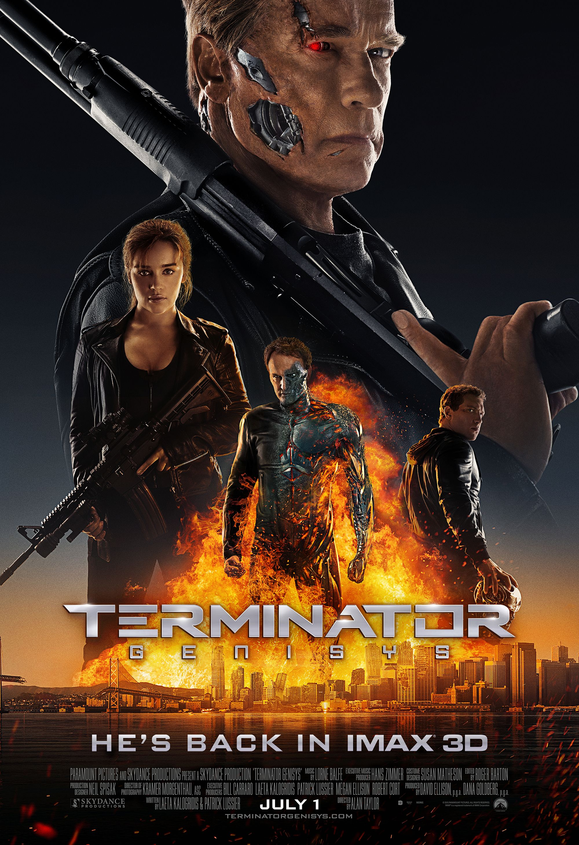Terminator Genisys: An IMAX 3D Experience. Get tickets ...