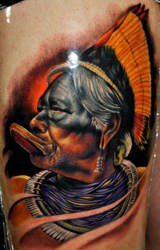 Tatuagem Indio Brasileiro Indios Brasileiros Tatuagem India