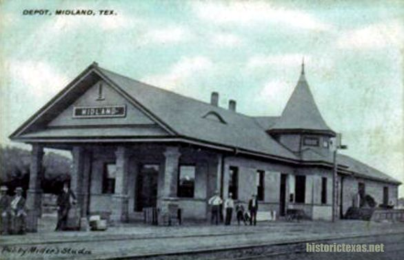 Old Photos Of Midland Texas Depot Midland Texas Early 1900s