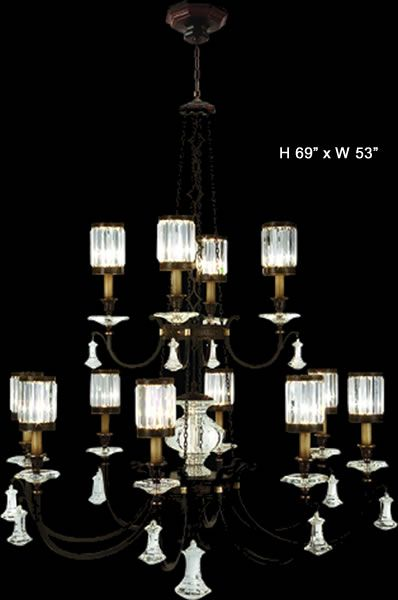 Traditional Very Large Scale Chandeliers Brand Lighting Discount