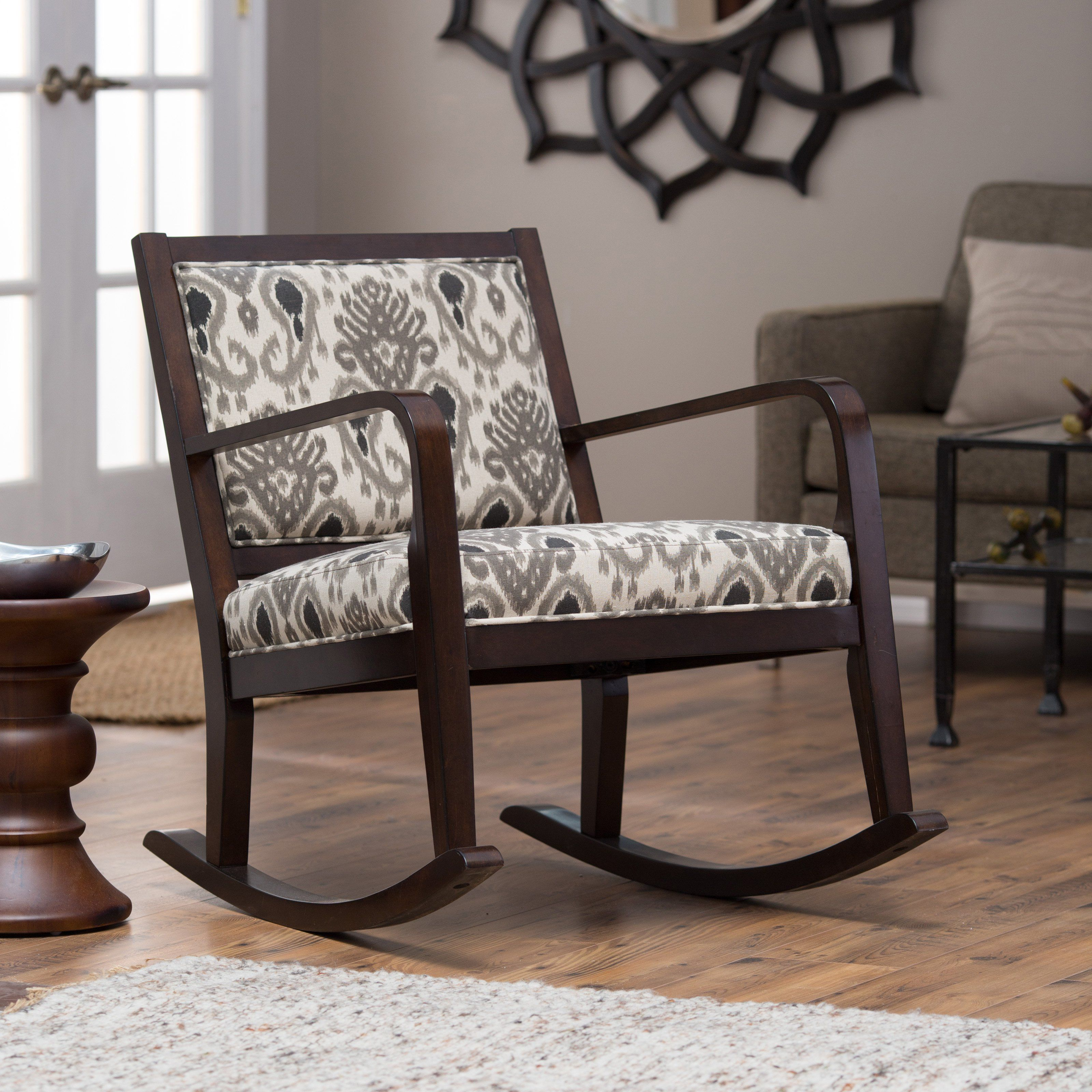 Have to have it. Belham Living Ikat Rocking Chair 199