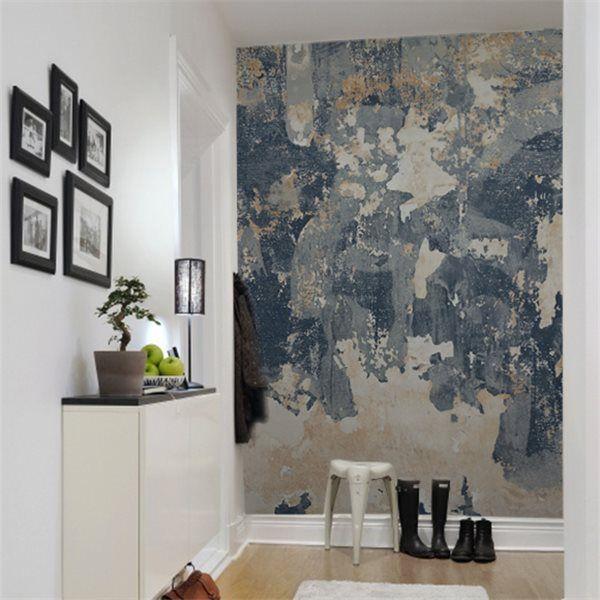panneau battered wall interiors pinterest papier peint peindre et mur. Black Bedroom Furniture Sets. Home Design Ideas