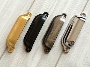 Aluminium Schrankgriff Möbelgriff Schubladengriff Handgriff 35mm Gold
