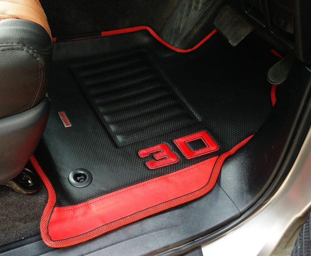 Premium 3D Design Floor Liners Mats All Weather For BMW series 3 2012-up