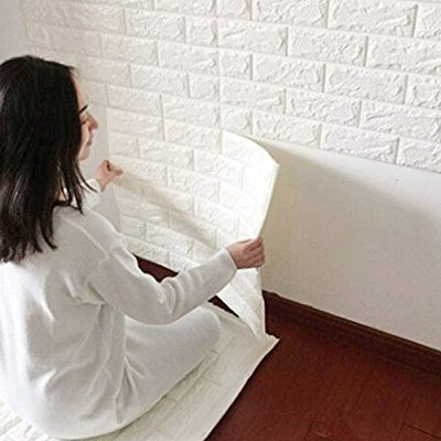3d De Ladrillos Papel Pintado Yibanban 3d Estereo De Papel Pintado - Papel-pintado-para-pared