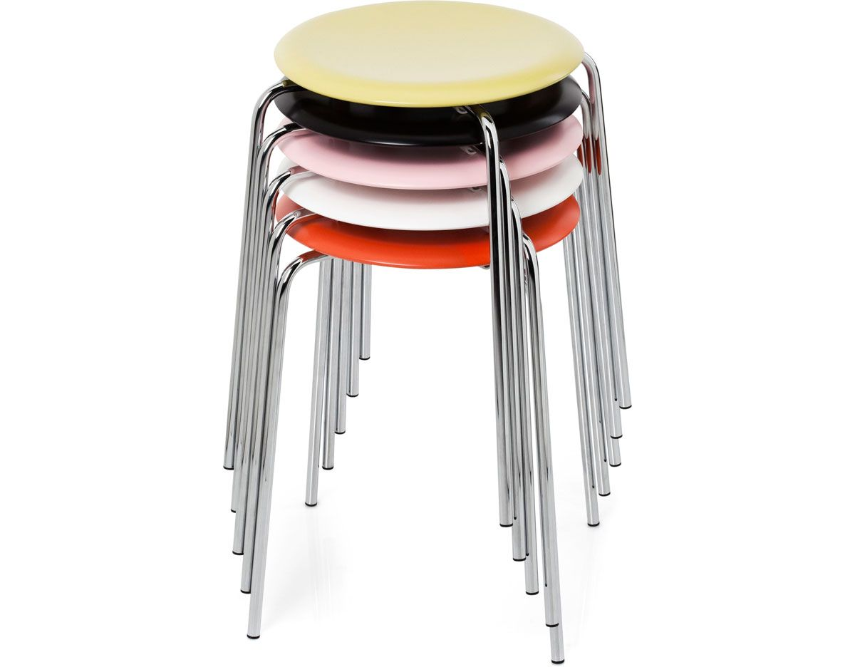 Timeless Design Dot Stool By Arne Jacobsen For Fritz