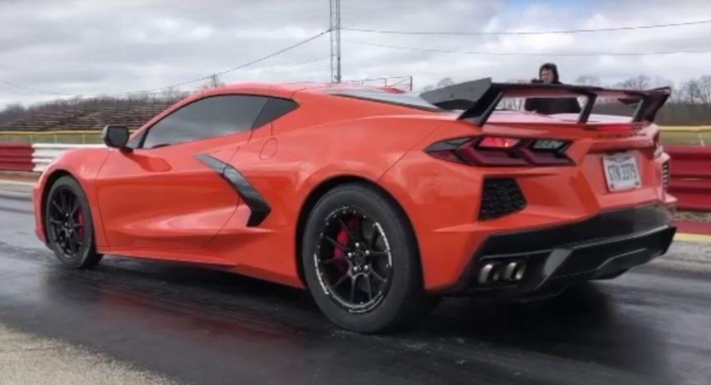Nos Makes The New Corvette C8 A 10 Sec Quarter Mile Car In 2020