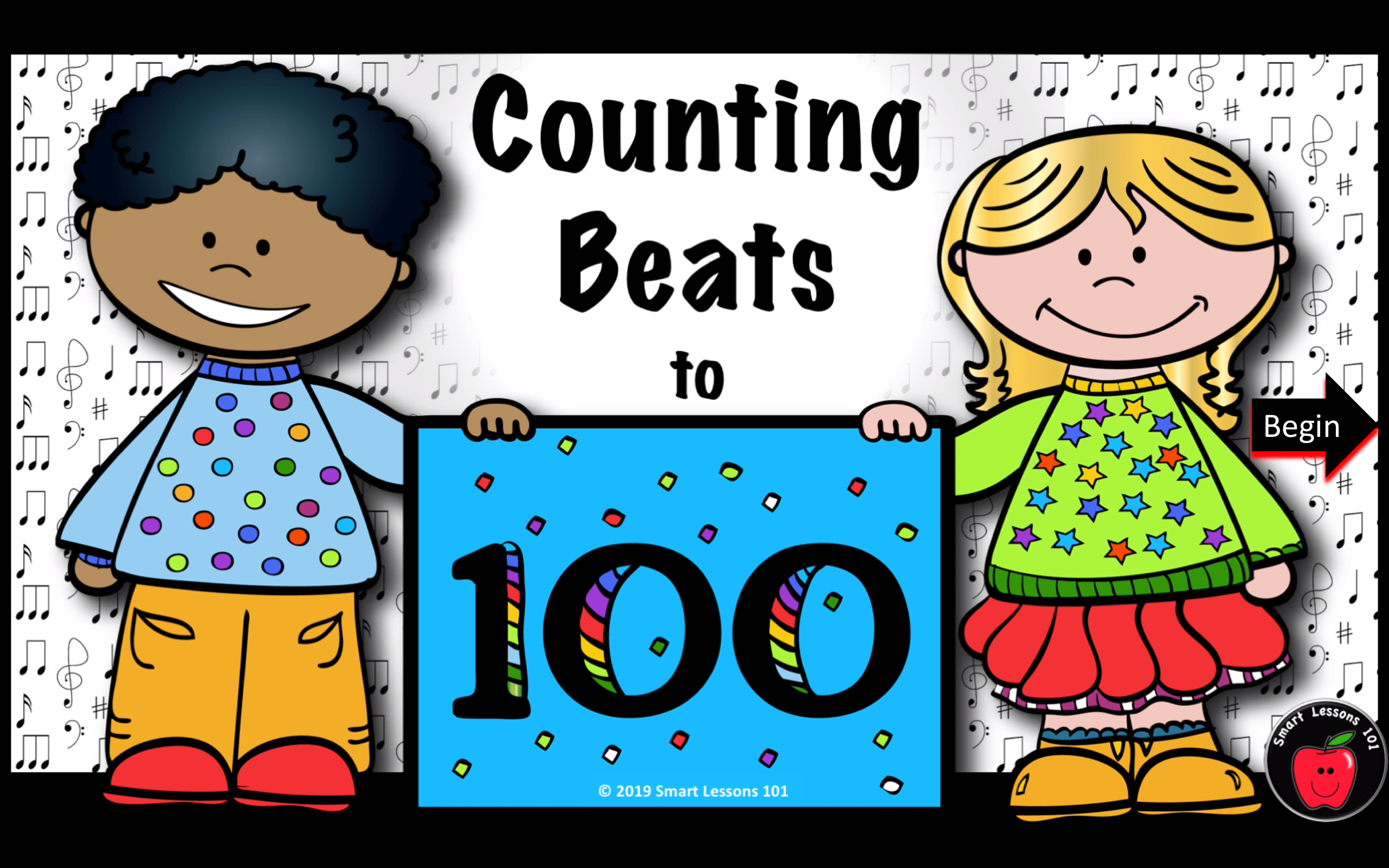 Fun 100th Day Of School Music Game 100th Day Of School