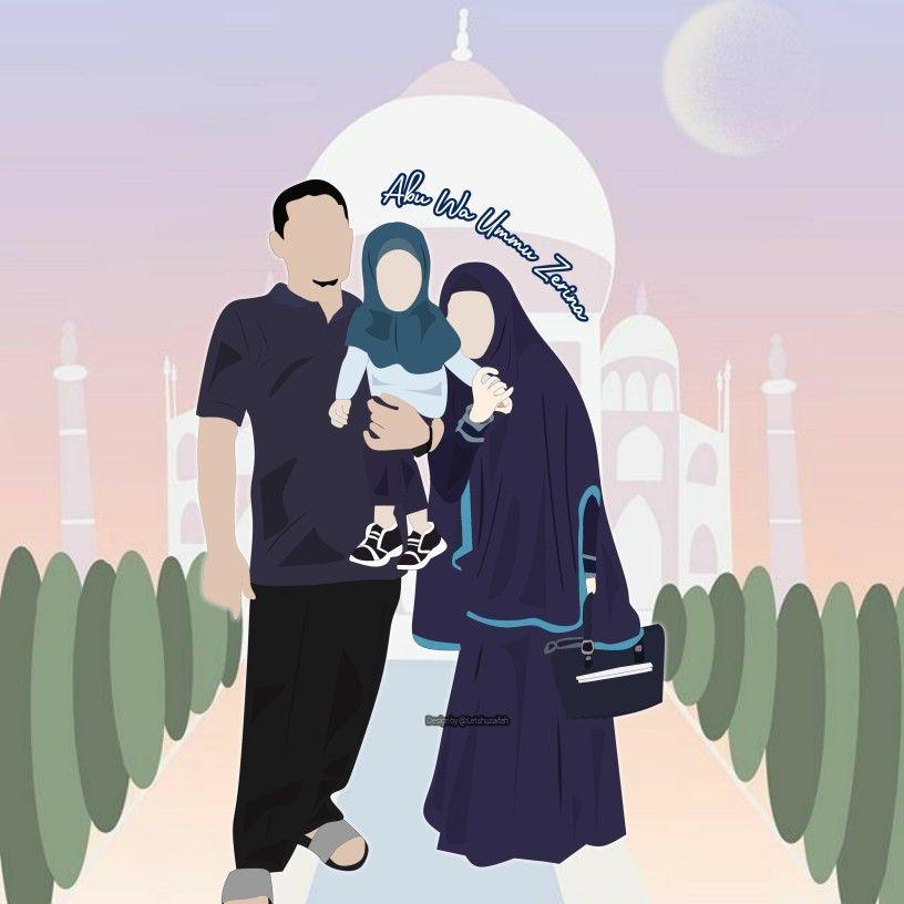 Pin di Doodle Art / anime muslim syar'i