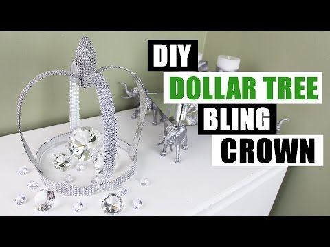 DIY DOLLAR TREE BLING CROWN